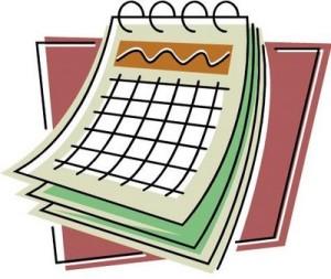 Calendar Clip Art 2038